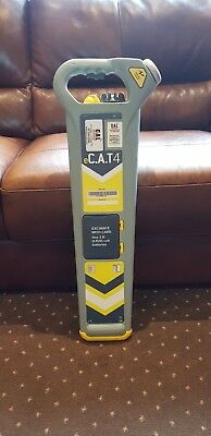 Calibrated Radiodetection e-CAT 4   Cable avoidance tool Detector scanner