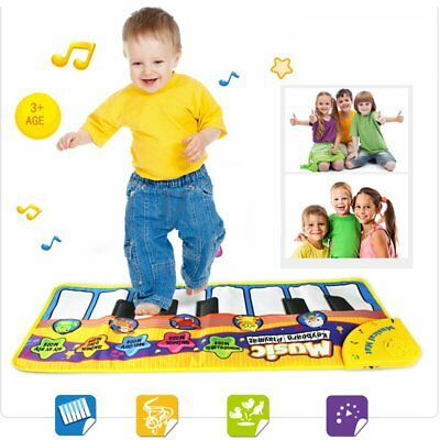 Baby Music Carpet Mat Funny Piano Keyboard Playmat Educational Toy For Kids 3+ S