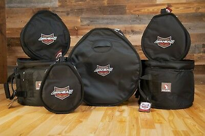 "Ahead Armor Fleece Lined Soft Tom Drum Cases (8"" 10"" 12"" 13"" 14"" 15"" 16"" 18"")"