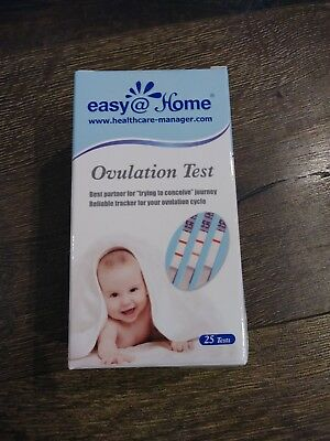 Easy@Home Ovulation Test Strips Kit