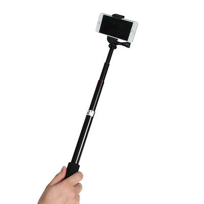 Telescoping Monopod  Adjustable Pole Selfie Stick for Gopro Hero 5 Hero 4/3+/3/2