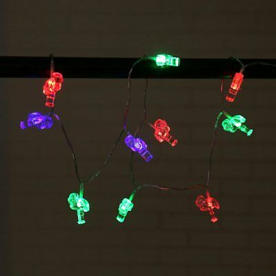 10 LED Light String Flamingo Thanksgiving Day Home Decoration Light Accessory#K