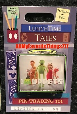 Disney Pin of the Month Lunch Time Tales The Muppets LE 1500 Preorder Nov 2018