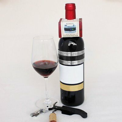 Stainless Steel Electric Red Wine Digital Thermometer 4-24 Centigrade Sensor CV