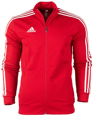 Adidas Power Red/White Tiro Training Jacket