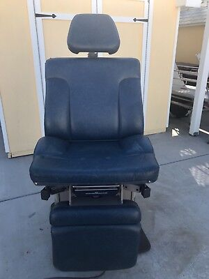 Ritter Midmark Model 311 Exam Chair With Electric Power Foot Control & Stirrups