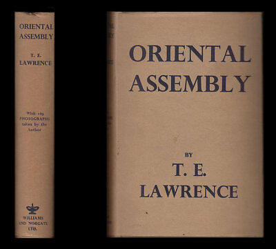 1939 T E LAWRENCE Arabia Oriental Assembly ARAB REVOLT Euphrates WAR PHOTOGRAPHS