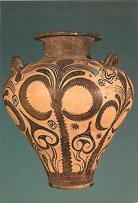 Greek Art postcard large palace style amphora