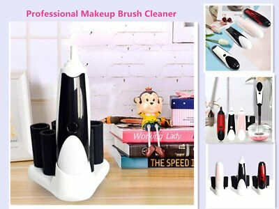 Makeup Brush Cleaner Usb Electric Scrubber Cosmetic Automatic Cleaning Dry GE