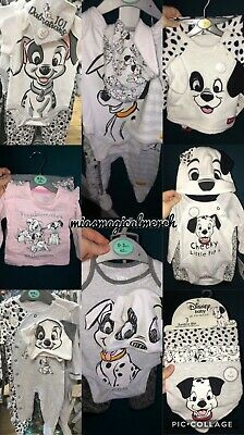 Brand New Primark Disney Baby Girls/Boys 101 Dalmatian Clothing Outfit Bibs