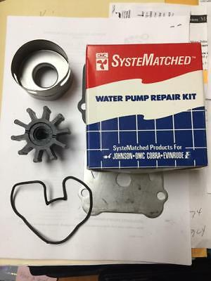 New Omc Cobra 2.3 3.0 Sterndrive Water Pump Impeller Kit 986486 0986486 986465