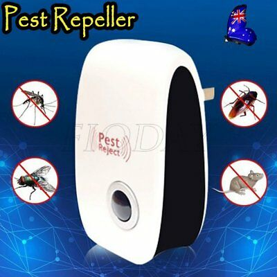 Ultrasonic Electronic Pest Mouse Cockroach Repeller Reject Insect Killer AA