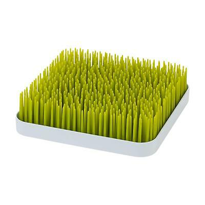 "Boon Grass Countertop Drying Rack, Green 9.5"" x 9.5"""