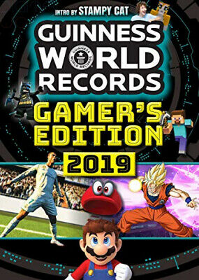 Guinness World Records 2019: Gamer's Edition Paperback Illustrated