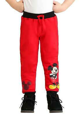 Toddler Boys Mickey Mouse Fleece 2-Pack Pants