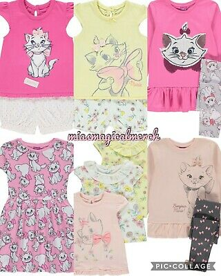 Brand New Baby/Girl's Disney Aristocats Marie Clothing Bodysuits Outfit