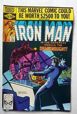 Invincible Iron Man 138,139,140,141,142 Bronze Age Lot FN to VFN+/NM- 1980