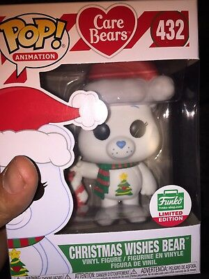Funko Pop! CONFIRMED PRE-ORDER Care Bears Christmas Wishes Bear