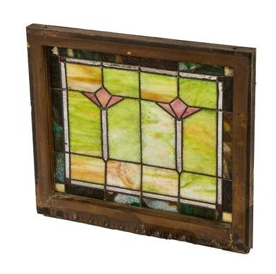Chicago Interior Residential Leaded Art Glass Transom Windows