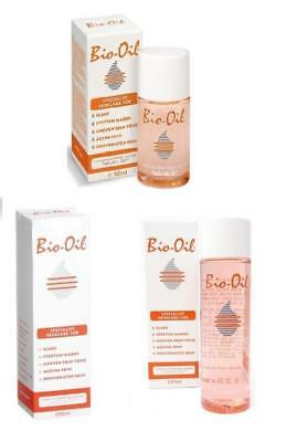 Bio-Oil Specialist Skincare for Stretch Marks and Scars - 60ml, 125ml, 200ml New