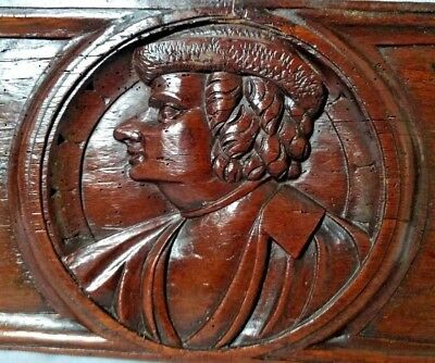 Very Fine Early 16th Century Oak Romayne Panel circa 1530