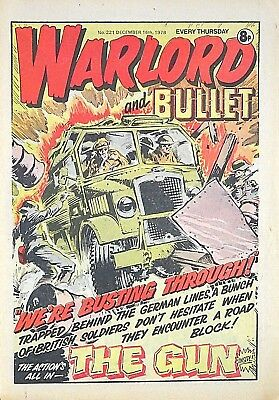 WARLORD - 2nd BULLET MERGER !! 16th DECEMBER 1978 - 40th BIRTHDAY GIFT !! victor