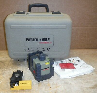 Porter Cable ROBOTOOLZ • RT-3620-2 / RT-A3620-1 Rotating Level Laser in Case 220