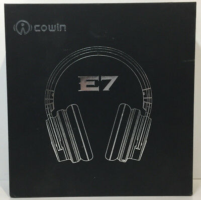 Cowin E7 Active Noise Cancelling Bluetooth Headphone w/Built-in Microphone MC9-Z