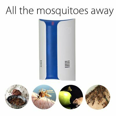 Ultrasonic Anti-Mosquito Device With Electromagnetic Wave Wall Plug Type GD