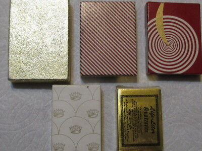 Five Lighters in Boxes
