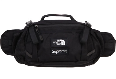 02b8226eee Supreme x The North Face Expedition Waist Bag Black FW18 New Fall Winter  2018