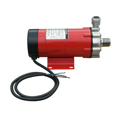 220V/240V Food Grade Magnetic Drive Pump Stainless Steel ery Beer Home 12 L/m