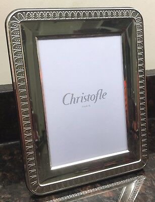 Christofle Silver Plated Photo Frame