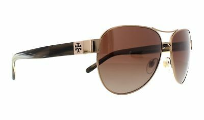 901acd07ce TORY BURCH SUNGLASSES TY6051 3198T5 Lt Gold Olive Horn 60MM ...