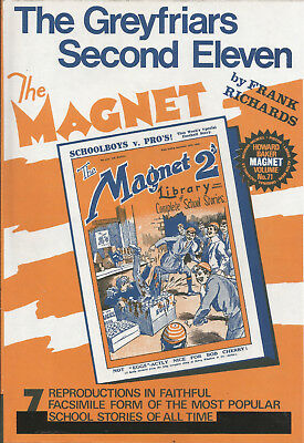The Magnet Howard Baker reprint Vol 71The Greyfriars Second Eleven (Bunter)