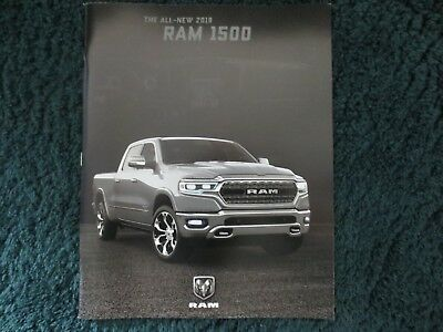 2019 All New Ram 1500 Hemi Dodge Brochure With Fold Outs 76 Pages New And Cool