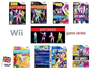 Wii Just Dance Game Series -Fast Delivery- 1 2 3 4 Kids Disney Party 350+Sold U