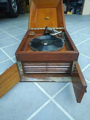 "Antique Gramophone. ""His Master's Voice"" Zealand No2"