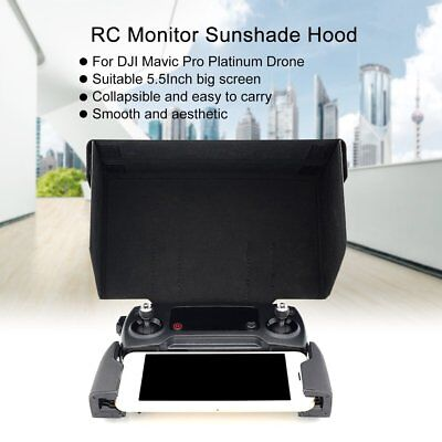 Remote Controller Monitor Sunshade Hood Sun Cover 5.5 Inch for DJI Mavic Drone d