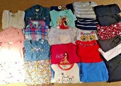 Girls' Clothing (newborn-5t) Huge Lot 24 Mo 2 T Mixed Osh Kosh Place Disney Joe Crazy 8 Carters Sonoma Clothing, Shoes & Accessories