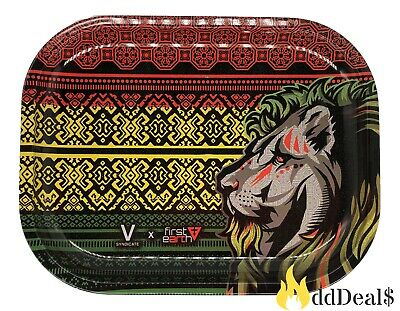 Tobacco Rolling Tray (Jamaica Lion Style) 7x5