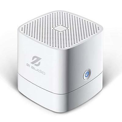 Portable Wireless Rechargeable Bluetooth Mini Speaker - High-Def Sound ~ White