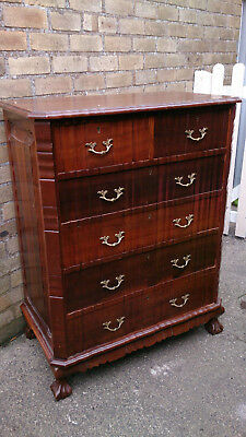 Antique Afrikaans Dutch Imbuia Chest of Drawers