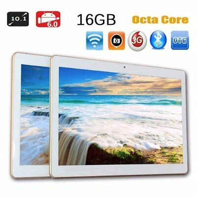 """10.1"""" Tablet PC Screen Android 7.0 3G Dual Camera Wifi Phablet 2018 SR"""