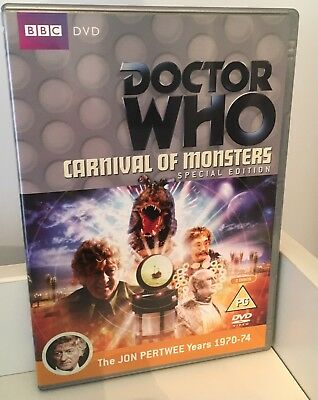 Doctor Who Carnival of Monsters (2 Disc Special Edition) Pertwee DVD