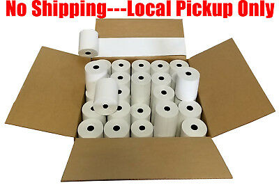 """3-1/8"""" x 230' (50 Rolls) Thermal Paper Register *No Shipping--Local Pickup Only"""