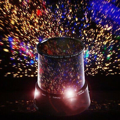 Starry Sky Calming Autism Sensory ADHD LED Light Projector Relax Colorful Lamps