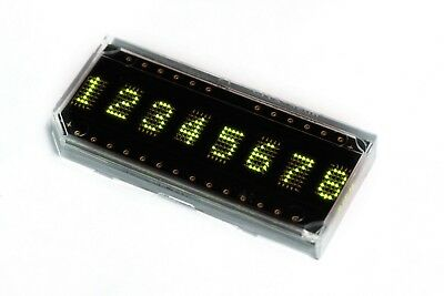 Broadcom Avago HP HDSP-2113 LED alphanumeric display, 8 digit, 5x7 pixel, green