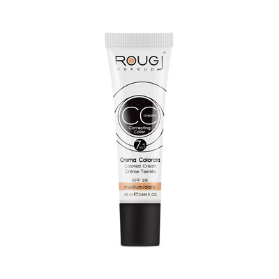 Rougj CC Cream 7in1 crema colorata SPF 25 colore medium/dark da 25ml