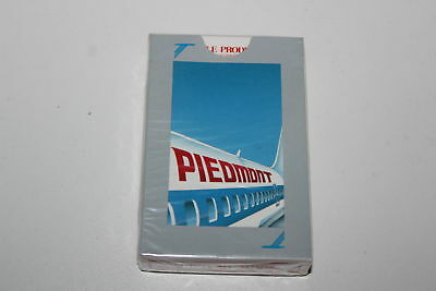 Vintage Sealed Playing Cards Piedmont Airlines Plane